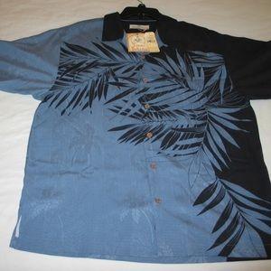 NWT Tommy Bahama 100% Silk, Men's Size M, Shirt,